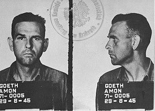Amon Göth Nazi German military officer and war criminal