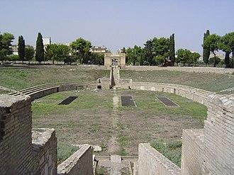 Lucera - Amphitheatre of Lucera.