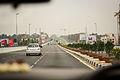 An urban road and traffic in Bangalore Karnataka India April 2014.jpg