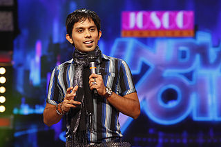 Anand Narayan Singer, Stage Performer & Josco Indian Voice Anchor.