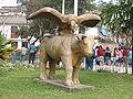 Andahuaylas Central Plaza Statue.jpg