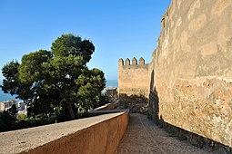 Andalousie, Málaga - Château de Gibralfaro - Apr 2011 - 01.jpg