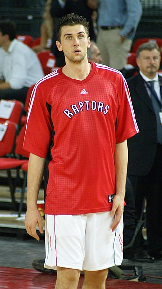 2007–08 Toronto Raptors season - Toronto looked to their 2006 number 1 pick Andrea Bargnani to combine with Chris Bosh to form the Raptors frontcourt, but the Italian struggled for the most part of the season.