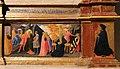 Andrea di giusto, adorazione dei magi e santi, da s. andrea a ripalta, 1436, 04 condanna e crocifissione di s. andrea 1.jpg