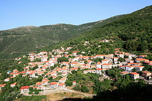 Andritsaina - View of the town