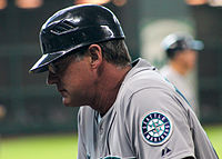 Andy Van Slyke Mariners coach July 2014 MMP.jpg