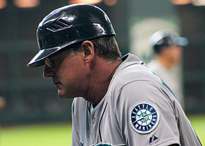 Andy Van Slyke - Van Slyke as coach with the Seattle Mariners in 2014