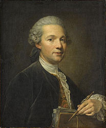 Jean-Baptiste Greuze: Portrait d'un artiste