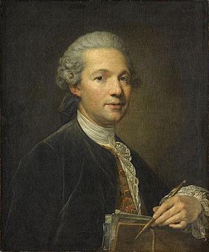 Ange-Jacques Gabriel - Ange Jacques Gabriel by Jean-Baptiste Greuze