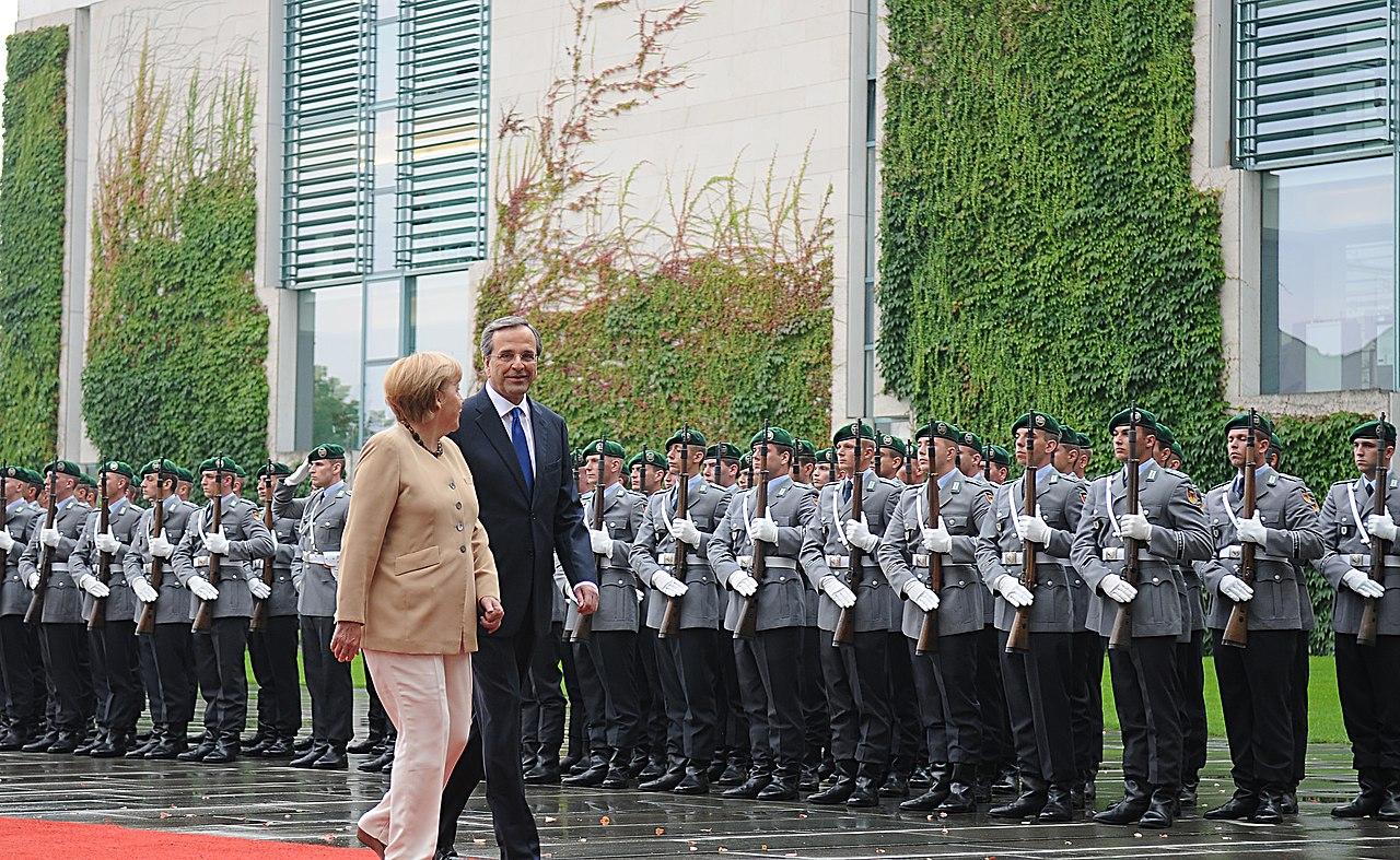 Angela Merkel - Αντώνης Σαμαράς.jpg