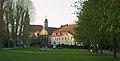 Angelbachtal - Eichtersheim - Rentamt und Schlosskirche von S weit.jpg
