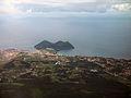 Angra do Heroísmo, vista parcial, Monte Brasil em pano de fundo, ilha Terceira, Açores, Portugal.jpg