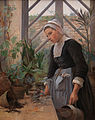 Anna Petersen - Breton Girl Looking After Plants in the Hothouse - Google Art Project.jpg