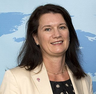 Minister for Foreign Affairs (Sweden) head of the Ministry for Foreign Affairs in Sweden