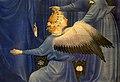Anonimo inglese o francese, dittico wilton, 1395-99 ca. 06 madonna col bambino e 11 angeli 6.jpg