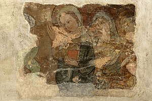 The Holy Women at the tomb of Christ