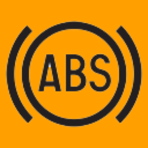 Anti-lock braking system - Symbol for ABS