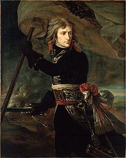 Antoine-Jean Gros - Napoléon Bonaparte sur le pont d'Arcole, 1797 (Hermitage)