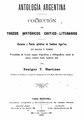 Antologia Argentina - Benigno Martinez (Tomo 1).pdf
