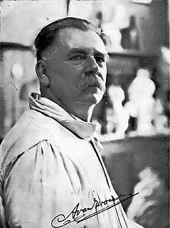 Anton van Wouw Dutch sculptor