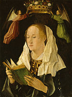 Antonello da Messina - The Virgin Mary Reading - Walters 37433.jpg