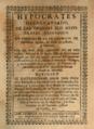 Antonio Díaz del Castillo (1713) Hypocrates Desagraviado.png
