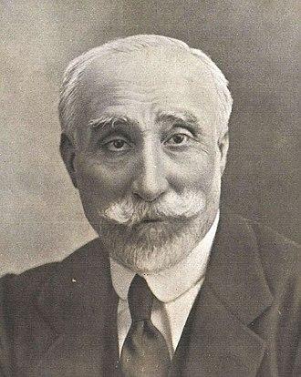 Antonio Maura - Image: Antonio Maura, de Kaulak (cropped) b