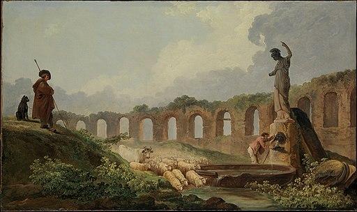 Aqueduct in Ruins MET DP230529