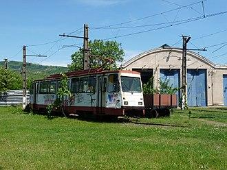 Timiș 2 - Image: Arad tram Ghioroc 2017 4