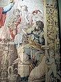 Arazzeria medicea su cartone di francesco salviati, sacrificio di alessandro, post 1542, OA7327, 02.JPG