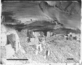 Archaeology of Southwestern U.S., Eastern cave of Mummy Cave, Canyon de Chelly, Arizona. - NARA - 523841.tif