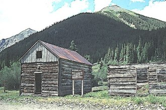 National Register of Historic Places listings in Hinsdale County, Colorado - Image: Argentum, CO