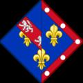 Armes françoise alençon (avant 1527).png