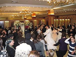 Beit Hadfus Street - Haredi wedding at Armonot Wolf.