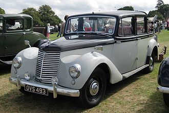 Armstrong Siddeley Lancaster - Armstrong Siddeley Lancaster with landaulette body for Malta's government