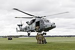 Army Air Corps Reserves train with Wildcat helicopters MOD 45164395.jpg