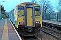Arriva Trains Wales Class 150, 150231, Heswall railway station (geograph 3800477).jpg