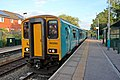 Arriva Trains Wales Class 150, 150250, Hope railway station (geograph 4032749).jpg