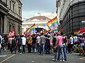 Arrivo in Piazza scala del Gay Pride di Milano 2008 1 - Foto Giovanni Dall'Orto, 7-June-2008.jpg