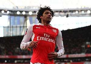 Mohamed Elneny - Elneny with Arsenal in 2016
