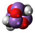 Spacefill model of arsenicin A