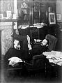 Arthur Schuster at home, sitting in armchair. Wellcome L0000620EB.jpg