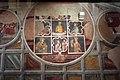 Asciano, museo di palazzo corboli, int., sala di aristotele con affreschi attr. a Cristoforo di Bindoccio e Meo di Pero, XIV sec. 04.JPG