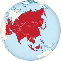 Asia on the globe (white-red).svg