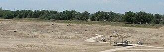 Astana Cemetery - A view of the Astana Cemetery