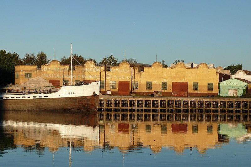 Hafen auf Isla Maciel