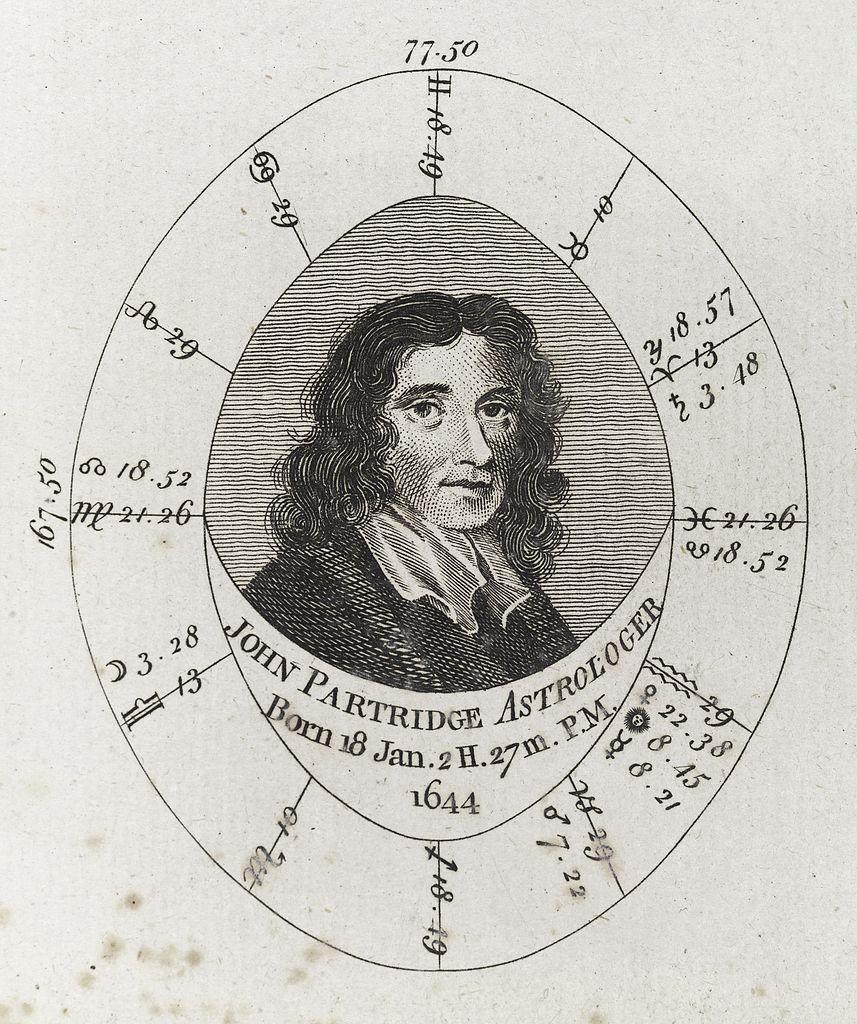 Natal Birth Chart: Astrological birth chart for John Partridge Astrologer ,Chart