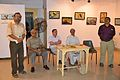 Atanu Ghosh Addressing - Inaugural Function - Atanu Ghosh Solo Exhibition - Kolkata 2014-09-16 8074.JPG