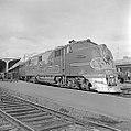 Atchison, Topeka, and Santa Fe, Diesel Electric Passenger Locomotive No. 12, at Platform (15653680495).jpg
