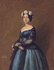 Augusta, Princess of Prussia by Franz Xaver Winterhalter (1805-1873)